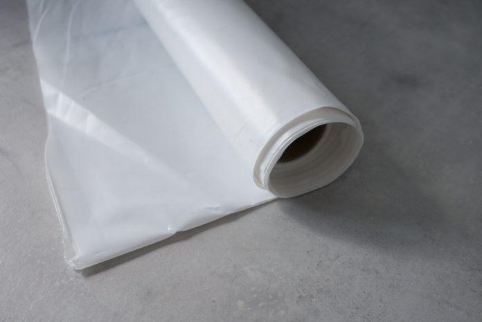 Polyethylenfolie als Dampfbremse